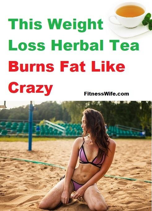 This Weight Loss Herbal Tea Burns Fat Like Crazy #weightloss